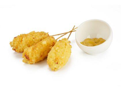 Сосиска в картофельном кляре