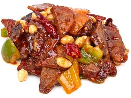 Гун-бао из говядины